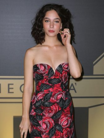 ROME, ITALY - OCTOBER 08: Matilda De Angelis attends the golden carpet for the Academy of Motion Picture, Arts and Sciences event at Palazzo Barberini on October 08, 2019 in Rome, Italy. (Photo by Ernesto Ruscio/Getty Images)