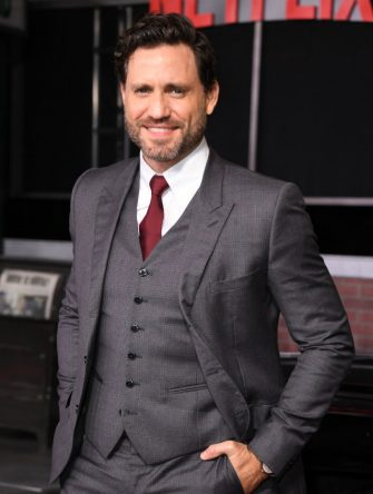 "Venezuelan actor Edgar Ramirez arrives for the Los Angeles premiere of Netflix's ""The Irishman"" at the Chinese theatre in Hollywood on October 24, 2019. (Photo by VALERIE MACON / AFP) (Photo by VALERIE MACON/AFP via Getty Images)"