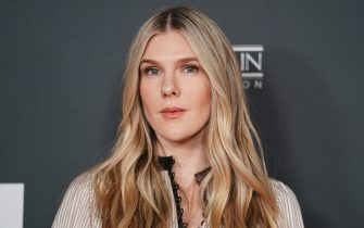 "LOS ANGELES, CALIFORNIA - OCTOBER 07: Lily Rabe attends the Los Angeles special screening of ""Why We Hate"" at Museum Of Tolerance on October 07, 2019 in Los Angeles, California. (Photo by Rachel Luna/Getty Images)"
