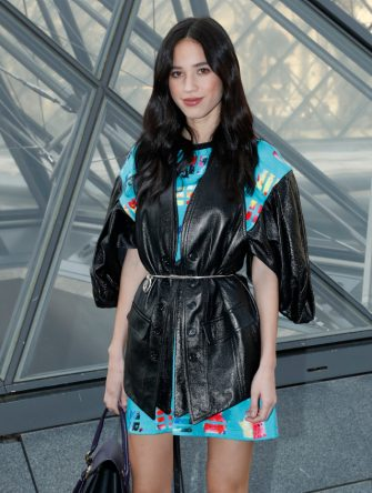 PARIS, FRANCE - MARCH 05: Kelsey Asbille Chow attends the Louis Vuitton show as part of the Paris Fashion Week Womenswear Fall/Winter 2019/2020  on March 05, 2019 in Paris, France. (Photo by Bertrand Rindoff Petroff/Getty Images)
