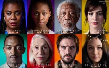 'Solos', Morgan Freeman, Helen Mirren e Anne Hathaway in una serie tv