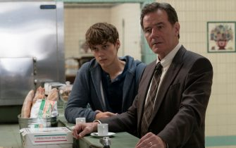 "(L-R): Hunter Doohan as Adam Desiato and Bryan Cranston as Michael Desiato in YOUR HONOR, ""Part Two"". Photo Credit: Skip Bolen/SHOWTIME."