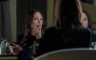 "Hope Davis as Gina Baxter in YOUR HONOR, ""Part Three"". Photo Credit: Skip Bolen/SHOWTIME."