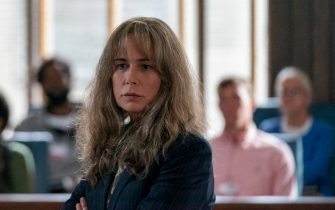 """Maura Tierney as Fiona McKee in YOUR HONOR, """"Part Eight"""". Photo Credit: Skip Bolen/SHOWTIME."""