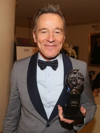 NEW YORK, NY - JUNE 09: Best Actor in a Play Bryan Cranston poses in the press room for The 2019 Annual Tony Awards at Radio City Music Hall on June 9, 2019 in New York City. (Photo by Bruce Glikas/WireImage)