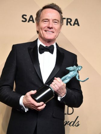 LOS ANGELES, CA - JANUARY 29:  Bryan Cranston poses at the 23rd Annual Screen Actors Guild Awards at The Shrine Expo Hall on January 29, 2017 in Los Angeles, California.  (Photo by Steve Granitz/WireImage)
