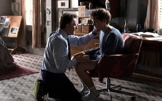 "(L-R): Bryan Cranston as Michael Desiato and Hunter Doohan as Adam Desiato in YOUR HONOR, ""Part One"". Photo Credit: Skip Bolen/SHOWTIME."
