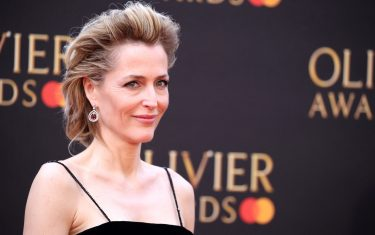 LONDON, ENGLAND - APRIL 07: Gillian Anderson attends The Olivier Awards 2019 with MasterCard at the Royal Albert Hall on April 07, 2019 in London, England. (Photo by Mike Marsland/WireImage)