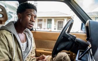 "Lamar Johnson as Kofi Jones in YOUR HONOR, ""Part Two"". Photo Credit: Skip Bolen/SHOWTIME."