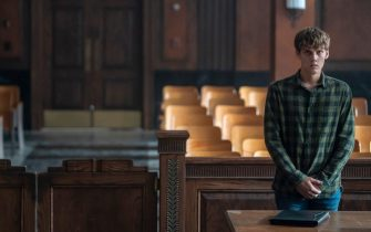 "Hunter Doohan as Adam Desiato in YOUR HONOR, ""Part Two"". Photo Credit: Skip Bolen/SHOWTIME."