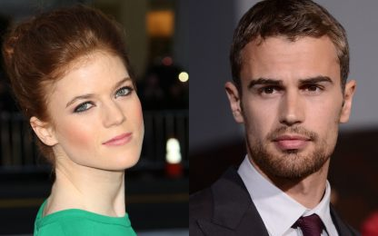 Rose Leslie e Theo James nella serie The Time Traveler's Wife