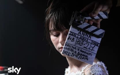 Anna, le foto dal backstage della serie tv di Niccolò Ammaniti