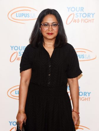 BEVERLY HILLS, CALIFORNIA - MAY 04: Parminder Nagra arrives at the Lupus LA Orange Ball 2019 at the Beverly Wilshire Four Seasons Hotel on May 04, 2019 in Beverly Hills, California. (Photo by Amanda Edwards/WireImage,)