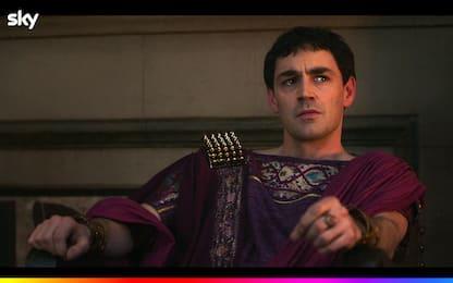 Domina, il cast: Matthew McNulty è Gaio Giulio Cesare Augusto. VIDEO