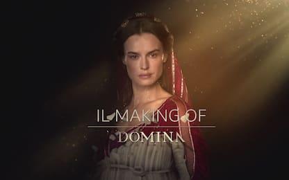 Domina, il making-of della serie tv con Kasia Smutniak. VIDEO