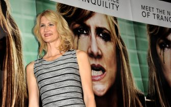 """LOS ANGELES, CA - OCTOBER 06:  Actress Laura Dern arrives at the premiere of HBO's """"Enlightened"""" at the Paramount Theater on October 6, 2011 in Los Angeles, California.  (Photo by Kevin Winter/Getty Images)"""