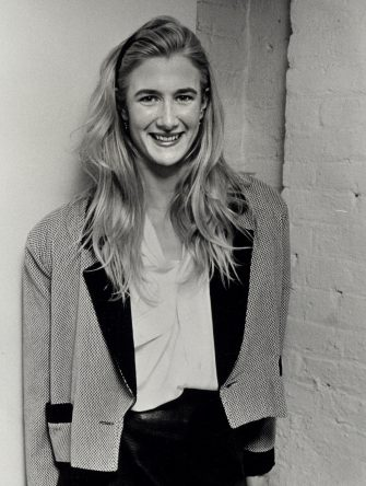"""NEW YORK CITY - MARCH 23:  Actress Laura Dern attending the opening of """"The Palace of Amateurs"""" on March 23, 1988 at the Minetta Lane Theater in New York City, New York. (Photo by Ron Galella/Ron Galella Collection via Getty Images)"""