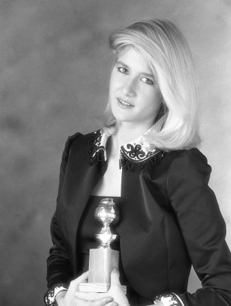 LOS ANGELES - JANUARY 5: Laura Dern, the 1982 Miss Golden Globe. Image dated January 5, 1982.  (Photo by CBS via Getty Images)