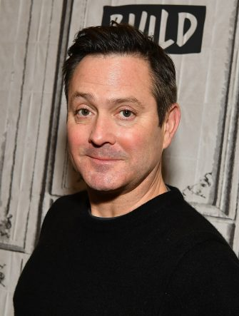 """NEW YORK, NY - MARCH 05:  (EXCLUSIVE COVERAGE) Actor/author Thomas Lennon visits Build Series to discuss his book """"Ronan Boyle and the Bridge of Riddles"""" at Build Studio on March 5, 2019 in New York City.  (Photo by Slaven Vlasic/Getty Images)"""