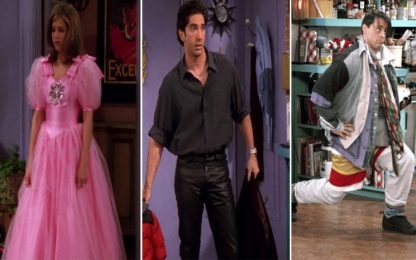Tutti i look indimenticabili indossati dai personaggi di Friends