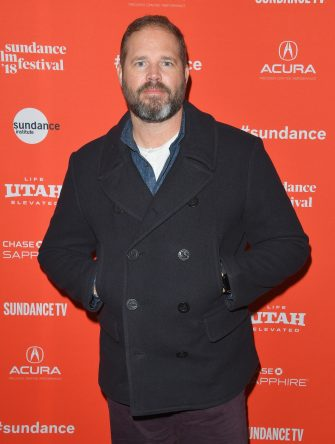 """PARK CITY, UT - JANUARY 23:  David Denman attends the """"Puzzle"""" Premiere at Eccles Center Theatre during the 2018 Sundance Film Festival on January 23, 2018 in Park City, Utah.  (Photo by George Pimentel/Getty Images)"""