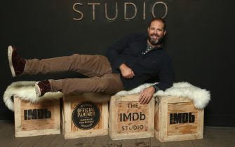 PARK CITY, UT - JANUARY 22:  Actor David Denman of 'Puzzle' attends The IMDb Studio and The IMDb Show on Location at The Sundance Film Festival on January 22, 2018 in Park City, Utah.  (Photo by Tommaso Boddi/Getty Images for IMDb)