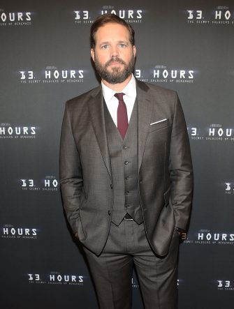 """MIAMI, FL - JANUARY 07:  David Denman attends Miami Special Screening of """"13 Hours: The Secret Soldiers of Benghazi"""" at Aventura Mall on January 7, 2016 in Miami, Florida.  (Photo by Aaron Davidson/WireImage)"""
