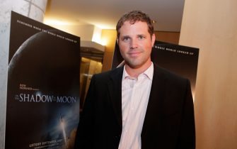 """LOS ANGELES, CA - AUGUST 15:  Actor David Denman poses at the special screening of THINKFilm's """"In The Shadow Of The Moon"""" in the Clarity Screening Room on August 15, 2007 in Los Angeles, California.  (Photo by Kevin Winter/Getty Images for THINKFilm)"""
