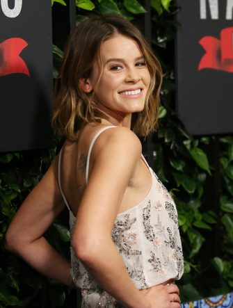 """LOS ANGELES, CALIFORNIA - FEBRUARY 06: Sosie Bacon attends the Los Angeles premiere of Netflix's """"Narcos: Mexico"""" Season 2 held at Netflix Home Theater on February 06, 2020 in Los Angeles, California. (Photo by Michael Tran/FilmMagic)"""