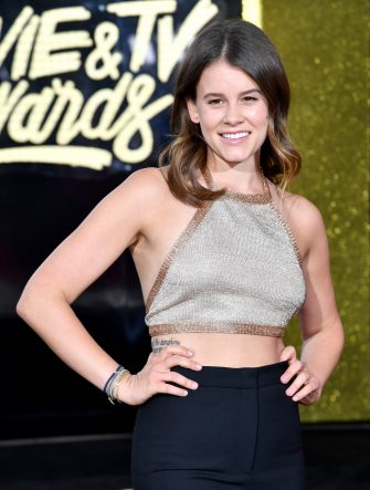 LOS ANGELES, CA - MAY 07:  Actor Sosie Bacon attends the 2017 MTV Movie And TV Awards at The Shrine Auditorium on May 7, 2017 in Los Angeles, California.  (Photo by Jeff Kravitz/FilmMagic)