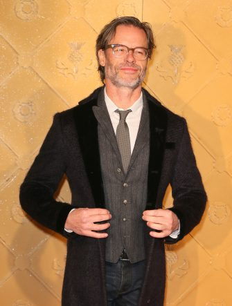 """LONDON, ENGLAND - DECEMBER 10: Guy Pearce attends the World Premiere of """"Mary Queen of Scots"""" at Cineworld Leicester Square on December 10, 2018 in London, England. (Photo by Ian Lawrence/WireImage)"""