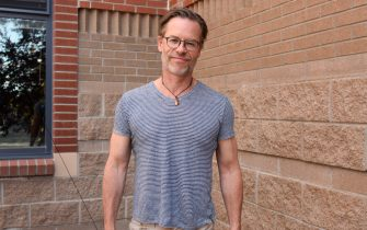TELLURIDE, CO - SEPTEMBER 01:  Guy Pearce attends the Telluride Film Festival 2019 attend on September 1st, 2019 in Telluride, Colorado.  (Photo by Vivien Killilea/Getty Images)