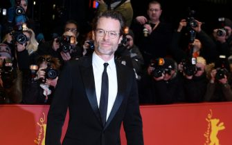 66th International Film Festival in Berlin, Germany, 16 February 2016. Premiere, 'Genius': actor Guy Pearce. The film is shown in competition at the Berlinale. The Berlinale runs from 11 February to 21 February 2016. PHOTO: GREGOR FISCHER/DPA | usage worldwide   (Photo by Gregor Fischer/picture alliance via Getty Images)