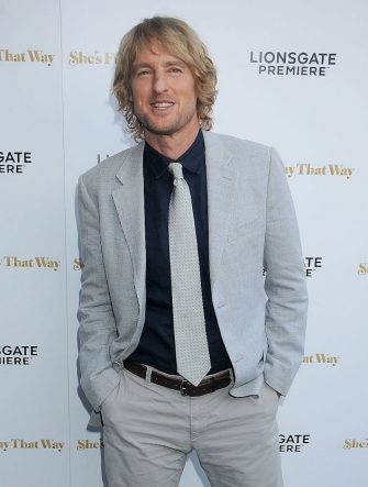 """LOS ANGELES, CA - AUGUST 19: Actor Owen Wilson arrives at the premiere of Lionsgate's """"She's Funny That Way"""" at Harmony Gold on August 19, 2015 in Los Angeles, California.  (Photo by Gregg DeGuire/WireImage)"""