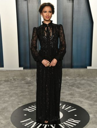 BEVERLY HILLS, CALIFORNIA - FEBRUARY 09: Gugu Mbatha-Raw attends the 2020 Vanity Fair Oscar Party hosted by Radhika Jones at Wallis Annenberg Center for the Performing Arts on February 09, 2020 in Beverly Hills, California. (Photo by Frazer Harrison/Getty Images)