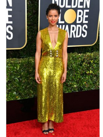 BEVERLY HILLS, CALIFORNIA - JANUARY 05: Gugu Mbatha-Raw attends the 77th Annual Golden Globe Awards at The Beverly Hilton Hotel on January 05, 2020 in Beverly Hills, California. (Photo by George Pimentel/WireImage)
