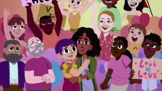 """WE THE PEOPLE Episode 108 """"The Courts"""" of WE THE PEOPLE. Directed by Daron Nefcy.  Song Title """"All Rise"""" performed by Andra Day. Cr. COURTESY OF NETFLIX © 2021"""