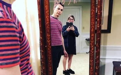 The Big Bang Theory, Mayim Bialik pubblica un selfie con Jim Parsons