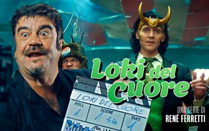 Loki incontra Boris, la serie MCU diretta da René Ferretti: VIDEO