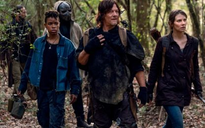The Walking Dead 11, le nuove foto mostrano l'arrivo dell'antagonista