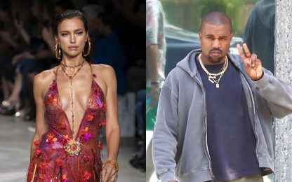 Irina Shayk e Kanye West, la presunta storia sarebbe già finita