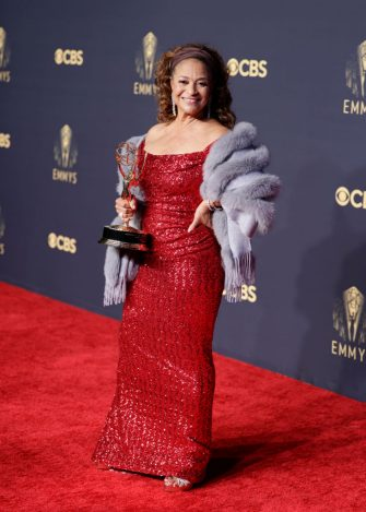 LOS ANGELES - SEPTEMBER 19: Debbie Allen, recipient of the 2021 Governor's Award at the 73RD EMMY AWARDS, broadcast Sunday, Sept. 19 (8:00-11:00 PM, live ET/5:00-8:00 PM, live PT) on the CBS Television Network and available to stream live and on demand on Paramount+. (Photo by Francis Specker/CBS via Getty Images)