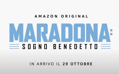 Maradona, il trailer della serie Amazon