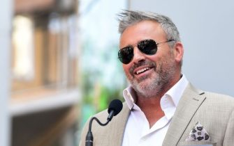 Actor Matt LeBlanc speaks during the ceremony honoring actor Stacy Keach with a Star on the Hollywood Walk of Fame on July 31, 2019, in Hollywood. (Photo by Frederic J. BROWN / AFP)        (Photo credit should read FREDERIC J. BROWN/AFP via Getty Images)