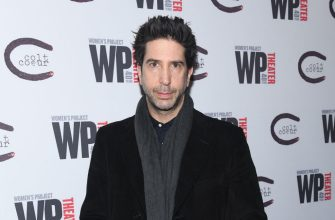 """NEW YORK, NEW YORK - MARCH 13: David Schwimmer attends """"HATEF**K"""" Opening Night at WP Theater on March 13, 2019 in New York City. (Photo by Noam Galai/Getty Images)"""