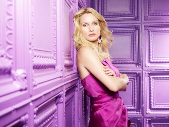 """Nicollette Sheridan stars as Edie Britt in the ABC Television Network's """"Desperate Housewives."""""""