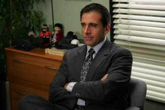 """THE OFFICE -- """"Gay Witch Hunt"""" -- Pictured: Steve Carell as Michael Scott -- NBC Photo: Justin Lubin"""