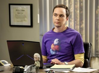 â  The Tam Turbulenceâ   â   Pictured: Sheldon Cooper (Jim Parsons). When Sheldon wonâ  t tell anyone why heâ  s never mentioned Tam (Robert Wu), his childhood best friend, Leonard takes matters into his own hands. Also, Bernadette and Penny take out Rajâ  s fiancée, Anu (Rati Gupta), for dinner to get the skinny on her, on THE BIG BANG THEORY, Thursday, Oct. 11 (8:00-8:31 PM, ET/PT) on the CBS Television Network. Jerry Oâ  Connell returns as Sheldonâ  s brother, George. Photo: Michael Yarish/CBS ©2018 CBS Broadcasting, Inc. All Rights Reserved.
