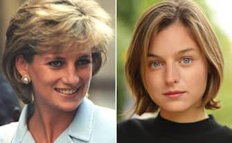 (KIKA) - LONDRA - Netflix arriva al cuore dei tanti innamorati di Lady Diana postando sul profilo ufficiale della serie tv The Crown le foto di Emma Corrin con l'abito da sposa della principessa triste. Che il giorno delle sue nozze non era triste per niente, ed è questa l'unica differenza con le immagini Netflix, in cui l'espressione di Emma Corrin fa presagire il proseguimento non idilliaco del matrimonio reale, fino alla separazione nel 1992 e al divorzio nel 1995.LEGGI ANCHE:The Crown trova la sua Lady Diana: è Emma CorrinLe foto mostrano la grande rassomiglianza tra la giovane attrice inglese e la principessa del popolo, come la chiamò il premier Tony Blair all'indomani della sua morte, ma anche la straordinaria precisione con cui gli outfit di Lady Diana, vera icona di stile del secolo passato, sono stati ricreati: ve lo mostriamo in questa gallery.EMMA CORRIN E LADY DIANA, LO STILE à LO STESSO[galleria]LEGGI ANCHE:Dietro le quinte della terza stagione di The CrownLa quarta stagione di The Crown partirà il 15 novembre e racconterà il periodo del fidanzamento e i primi anni di matrimonio tra il principe Carlo e Diana, prima della bufera che li coinvolse.[video mp4=https://www.kikapress.com/kikavideo/mp4/kikavideo_300522.mp4 id=300522]