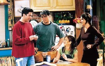 """Una scena della serie """"Friends"""""""